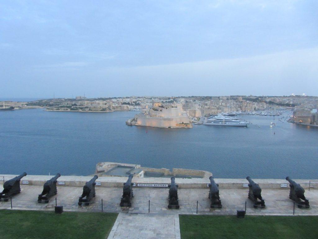 Valetta harbour view