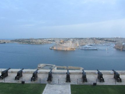 Valetta harbour view