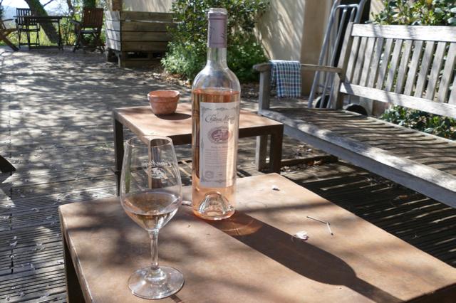 Delicious award winning organic wine at Chateau Marqui