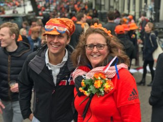King's Day celebrations