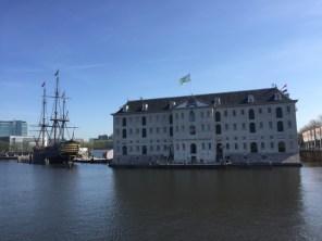 The famous Scheepvaartmuseum