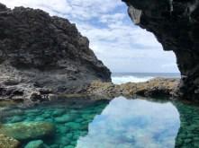 El Hierro rock and water art