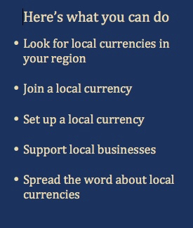 Here's what you can do - Sardex local currency