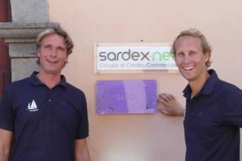 Ivar and Floris @Sardex