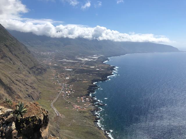 View on El Hierro's North coast