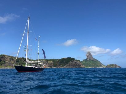Fernando de Noronha anchorage