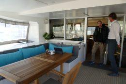 Luxurious Solarwave 62 interior