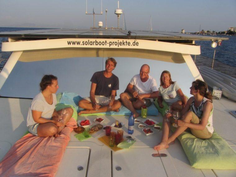Sundowners on SolarWave