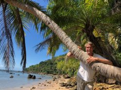 Coconut trees everywhere
