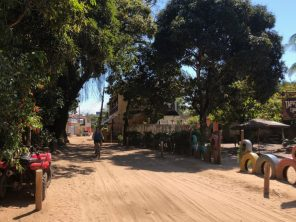 Sandy streets in Barra Grande