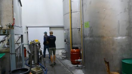 Mani Bläuel's modern storage facility