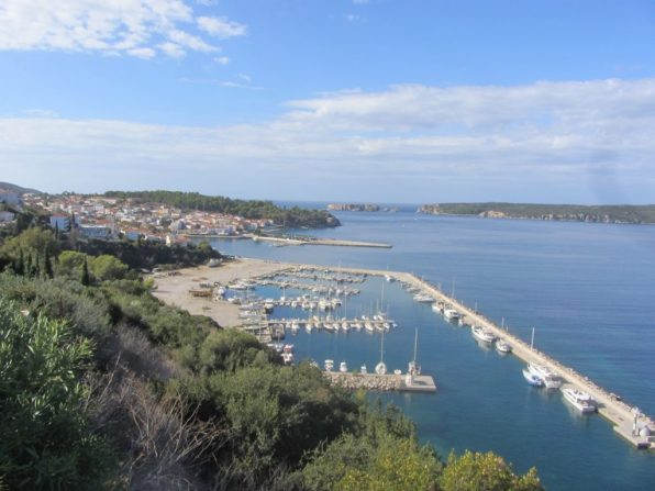 Pylos and its marina