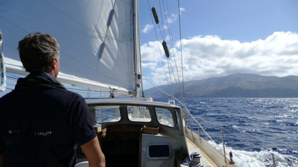 Sailing to El Hierro