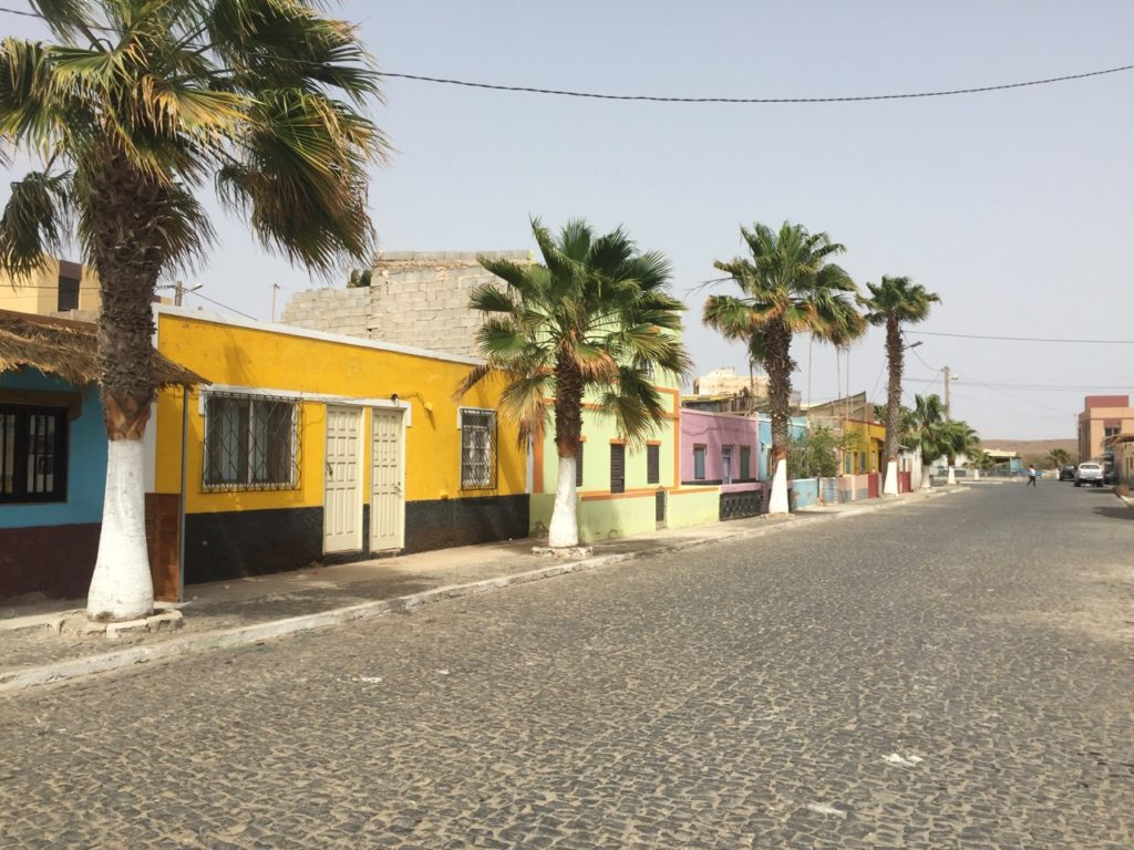 Remarkably clean streets in Palmeira