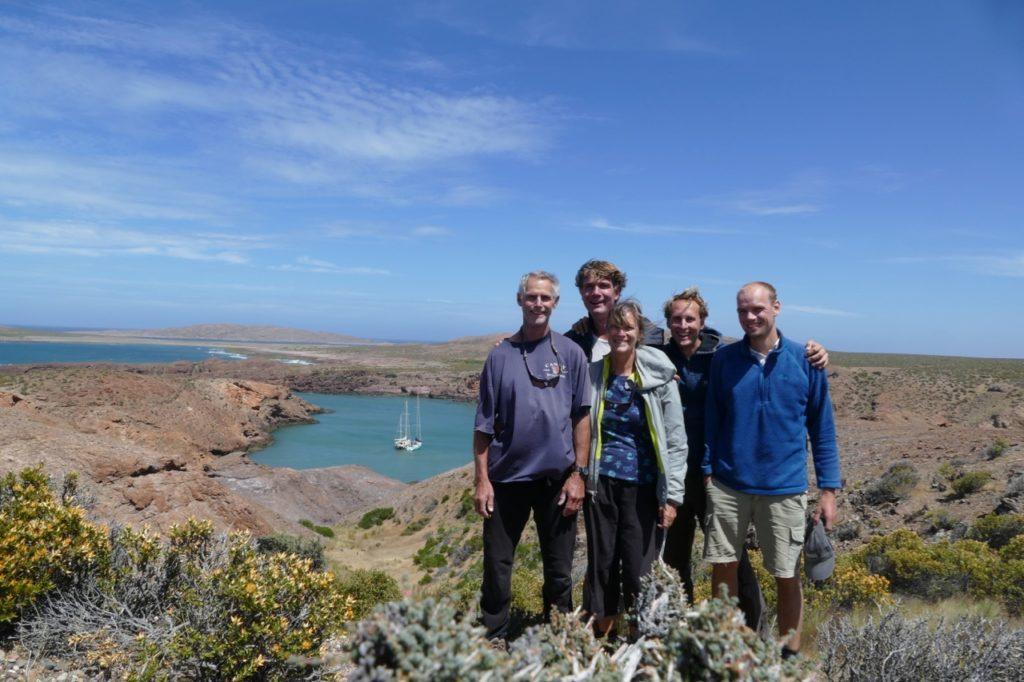 Caleta Horno hike with the Pazzo crew