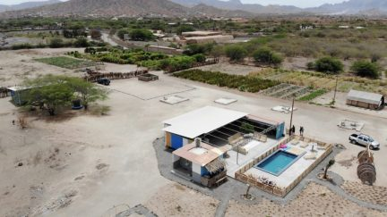 Casa Tambor bird's eye view