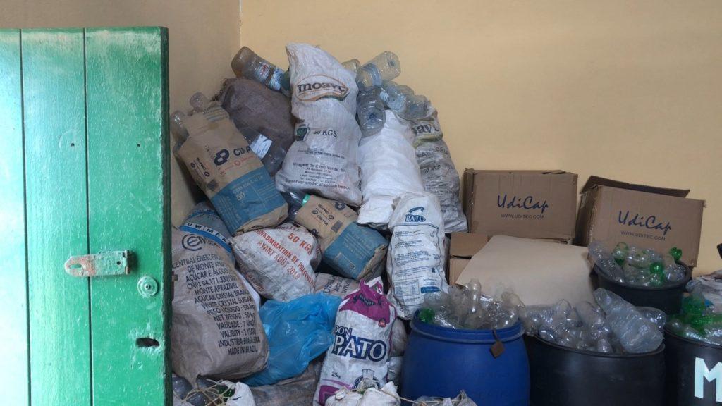 Plastic bottle stock