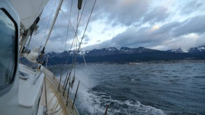 The last few miles to Ushuaia