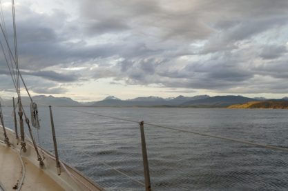 Unusually quiet Beagle Channel