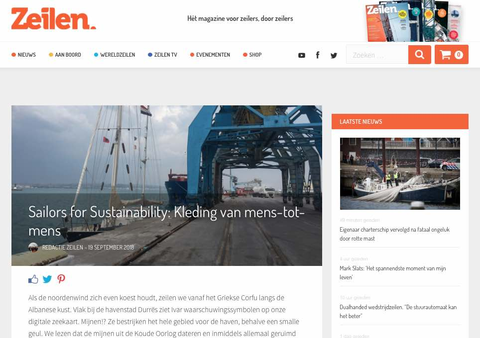 23 Sailors for Sustainability at Zeilen about Fair Fashion 20180919