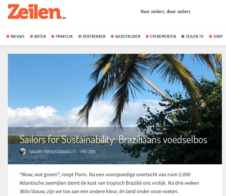 31 Sailors for Sustainability at Zeilen about Food Forests 20190501