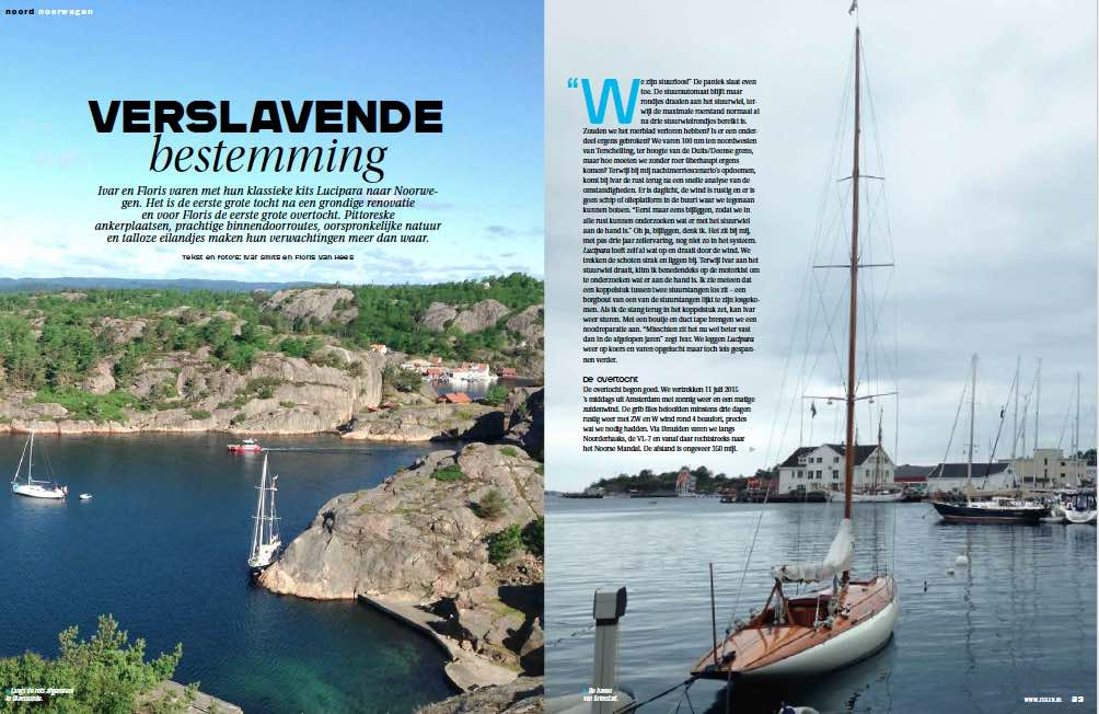 Article 1 Sailors for Sustainability in Zeilen 201501 Norway