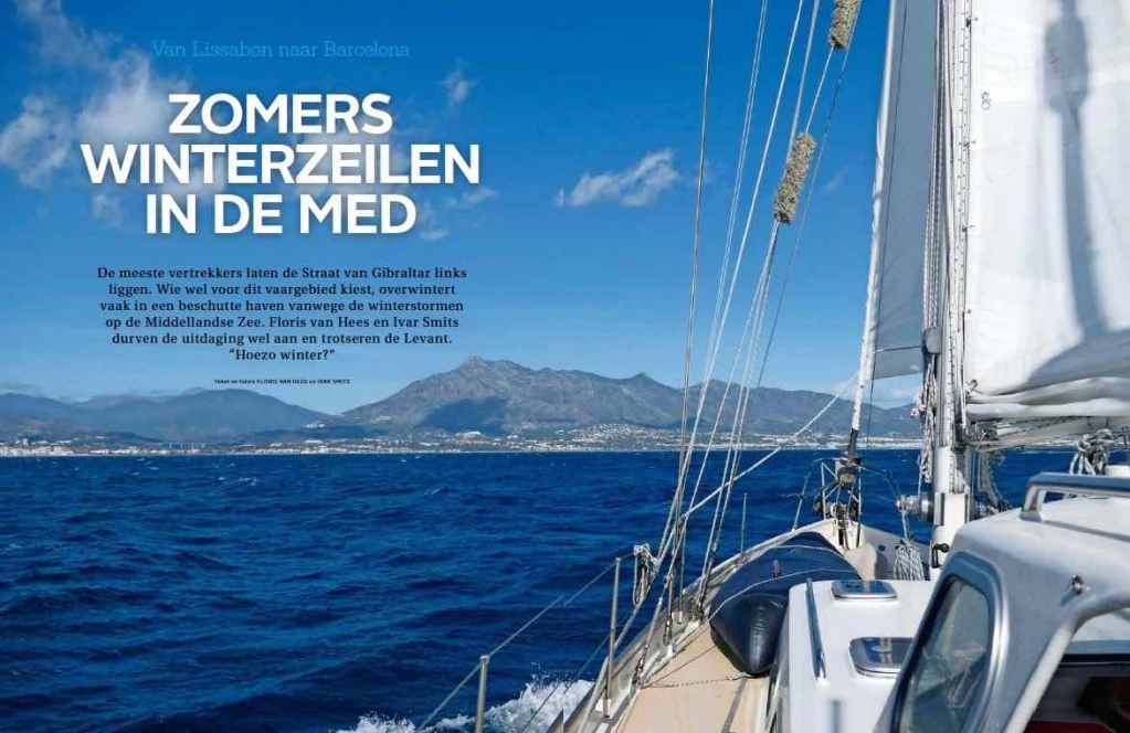Article 6 Sailors for Sustainability in Zeilen 201801 about Winter Sailing