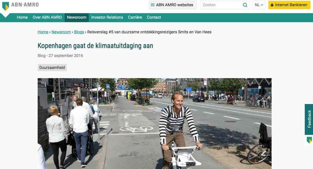 Blog 5 NL Sailors for Sustainability at ABN AMRO Copenhagen Climate Action