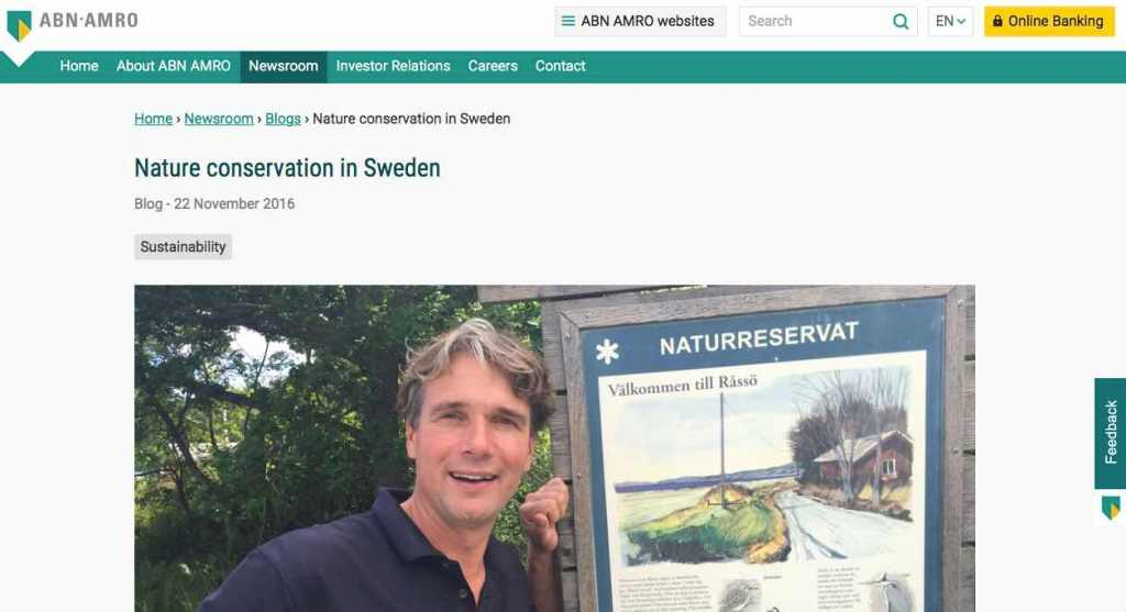 Blog 7 Eng Sailors for Sustainability at ABN AMRO Nature Protection
