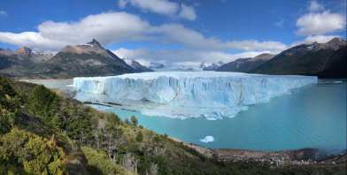 Panoramic picture of Perito Moreno Glacier