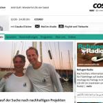 Sailors for Sustainability at WDR Cosmo 3
