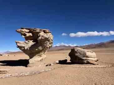 Erosion rock art
