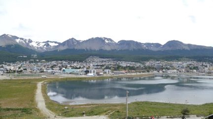Ushuaia grows at the expense of the forest