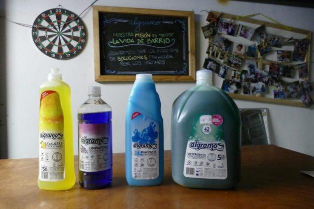 Algramo's reusable detergent containers