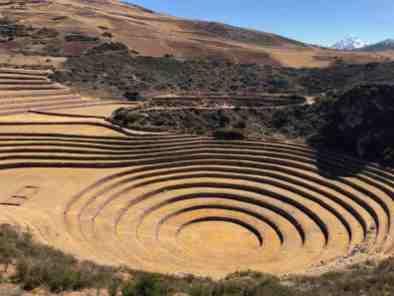 Former Inca agricultural develpment center