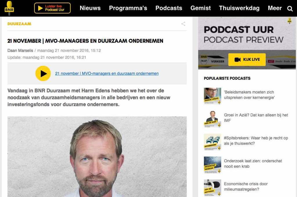 BNR Duurzaam interview Mondragon cooperatives