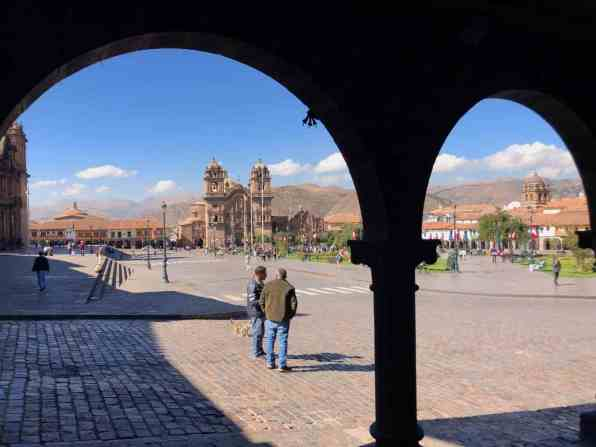 Cusco's main square