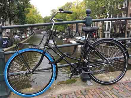 A Swapfiets in Amsterdam