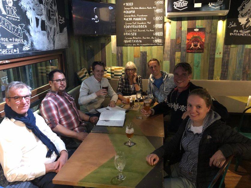 Dinner with Dutch delegation