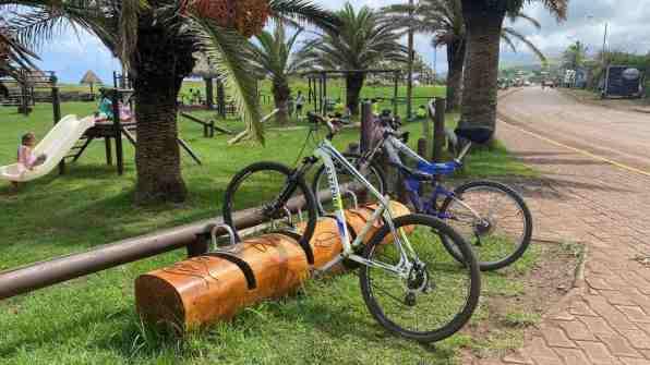 Arty bicycle racks