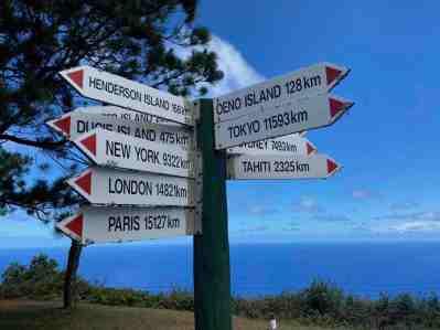 Remote Pitcairn Island