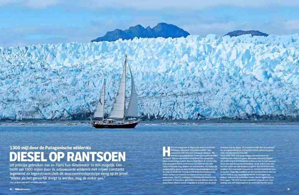 Sailors for Sustainability in Zeilen Magazine 202003 about Patagonia