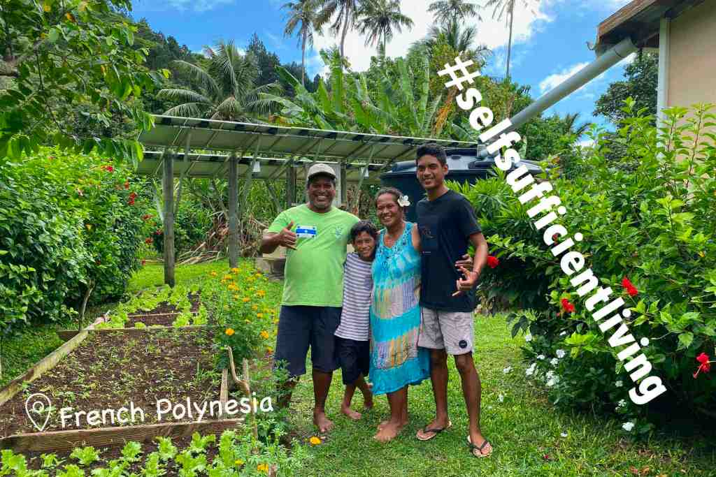 Self-Sufficient Living on Taravai (PYF)