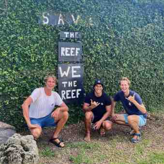 Sailors for Sustainability with Taiano of Coral Gardeners