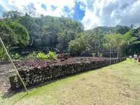 Archeological Polynesian site