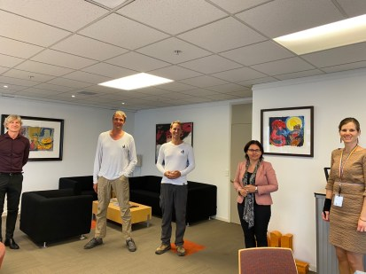 Visiting the Dutch Ambassy with Level 2 COVID restrictions