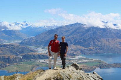 Roy's Peak reward: the amazing views! (Picture by Theo)