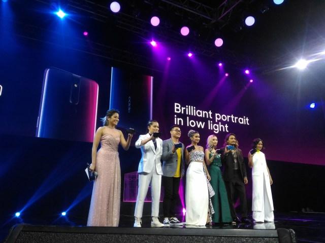 oppo F11 Pro Brand Ambassadors - Issa Pressman, Laureen Uy, Marga Bermudez, Rosenthal Tee, Luke Landrigan, and Magic Liwanag