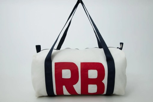 personalised sailcloth flight bag