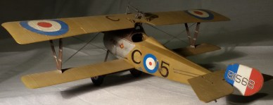 "Nieuport 17, Cap. William ""Billy"" Bishop, 1916 - Nieuport 17, Capt. William ""Billy"" Bishop, 1916"
